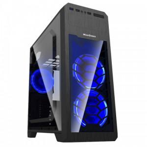 MaxGreen G563BL Window ATX Casing